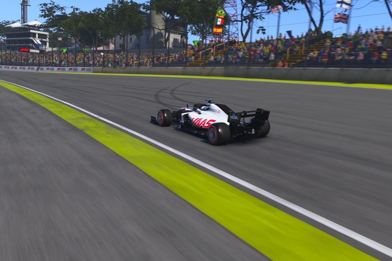 F1 2020 Interlagos Fittipaldi Haas