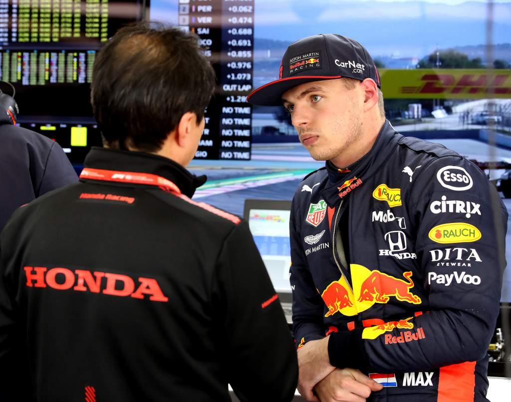 Tanabe Verstappen F1 Red Bull Honda
