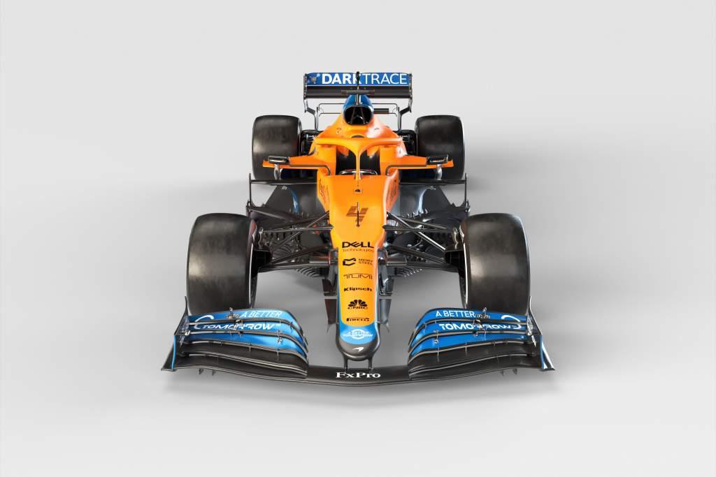 Mclaren Mcl35 F1 2021