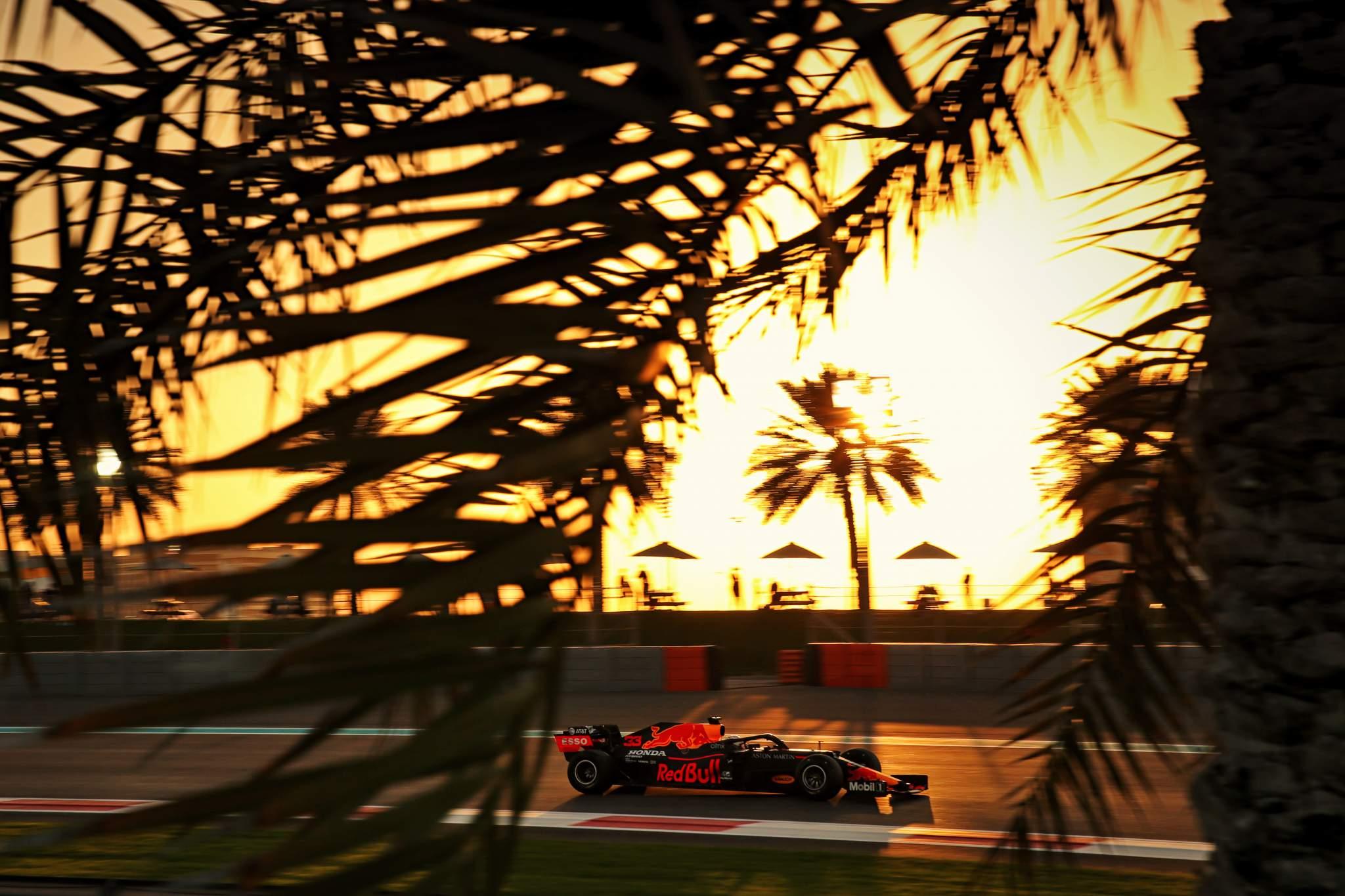 Max Verstappen Red Bull Abu Dhabi Grand Prix 2020
