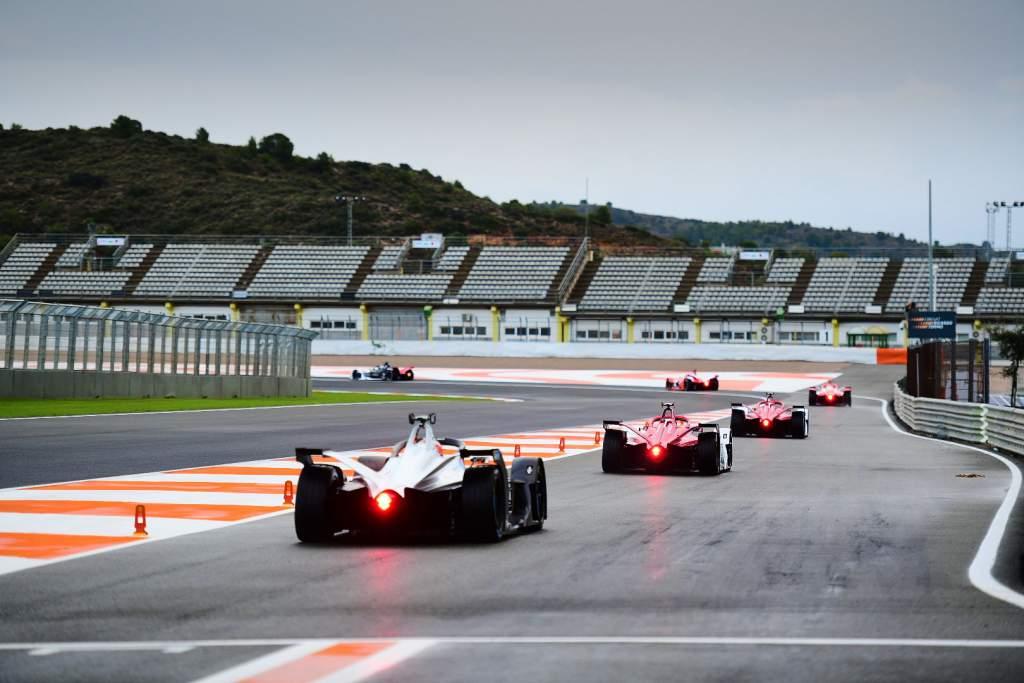 Valencia Formula E testing 2020