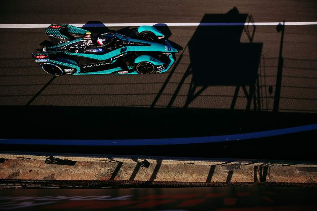 Sam Bird Jaguar Valencia Formula E testing 2020