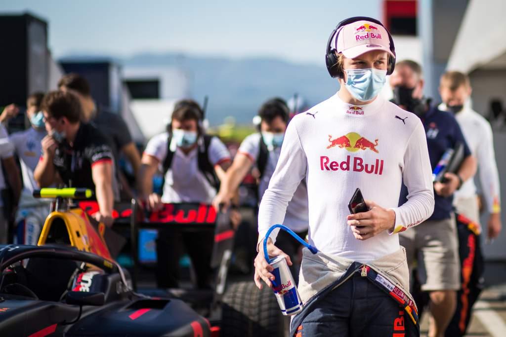 Liam Lawson Red Bull F3 Hitech GP