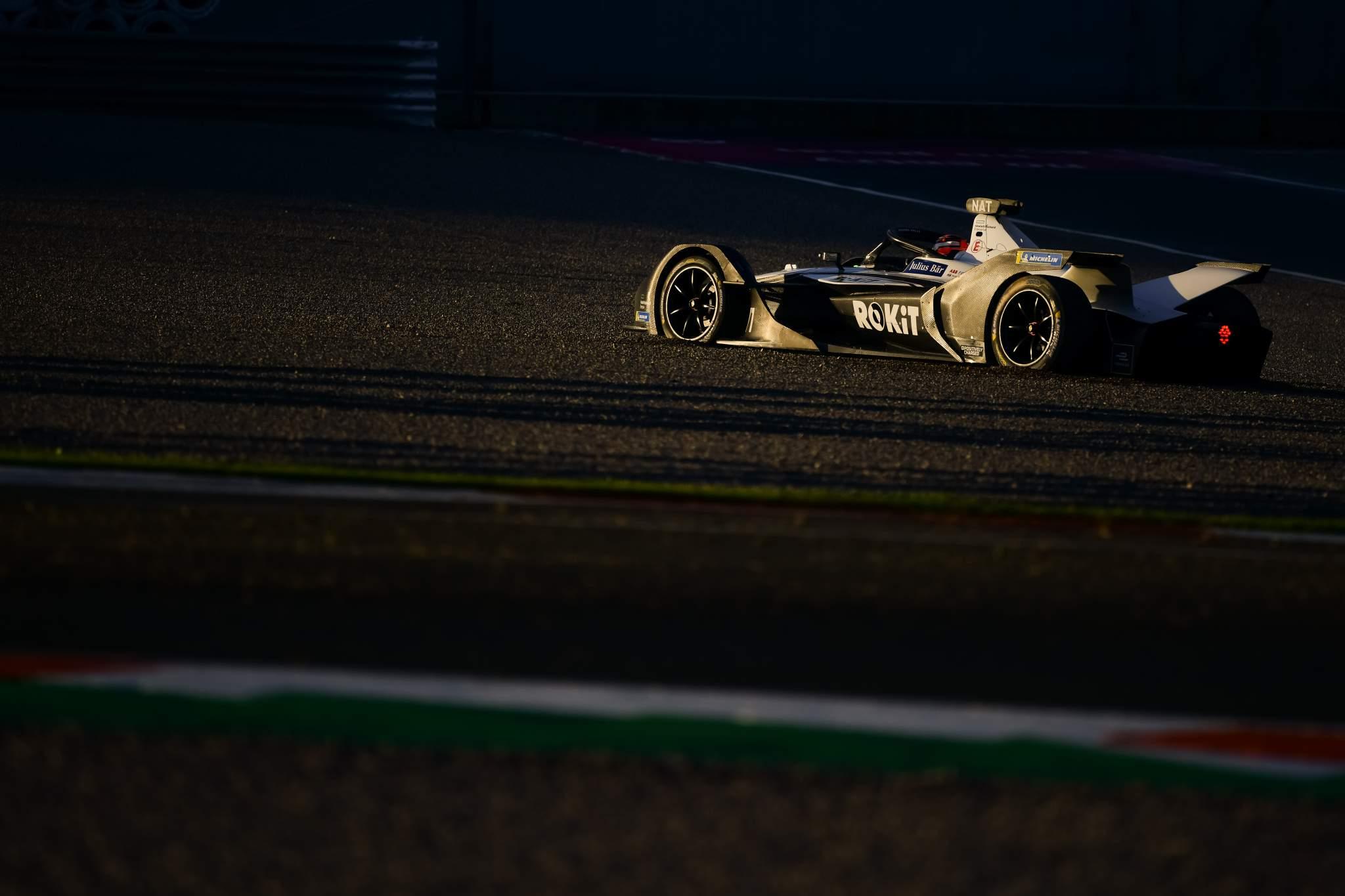 Norman Nato Venturi Valencia Formula E testing 2020