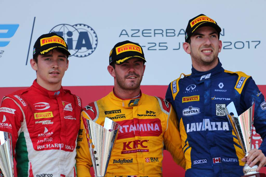 Motor Racing Fia Formula 2 Championship Sunday Baku, Azerbaijan