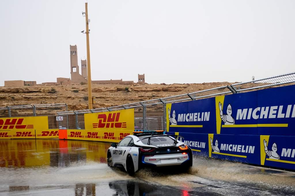 Formula E safety car Saudi Arabia