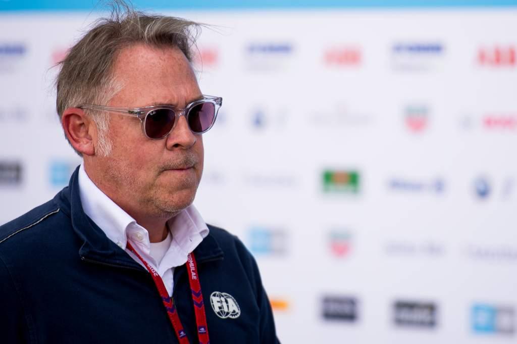 Scot Elkins Formula E race director