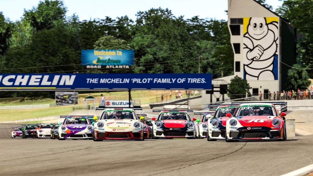 Porsche Esports Supercup Road Atlanta