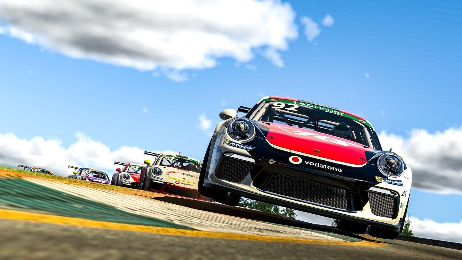Josh Rogers Porsche Esports Supercup