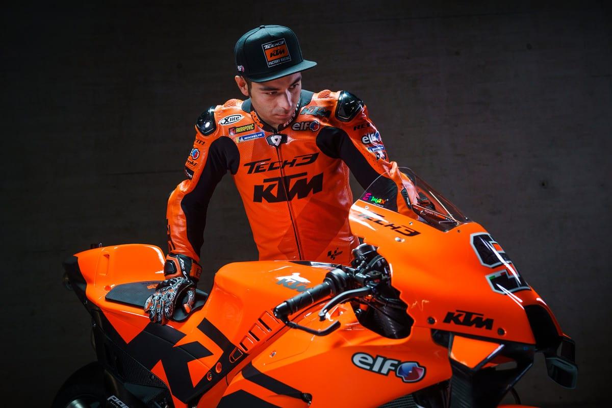 Danilo Petrucci Tech3 KTM MotoGP launch 2021