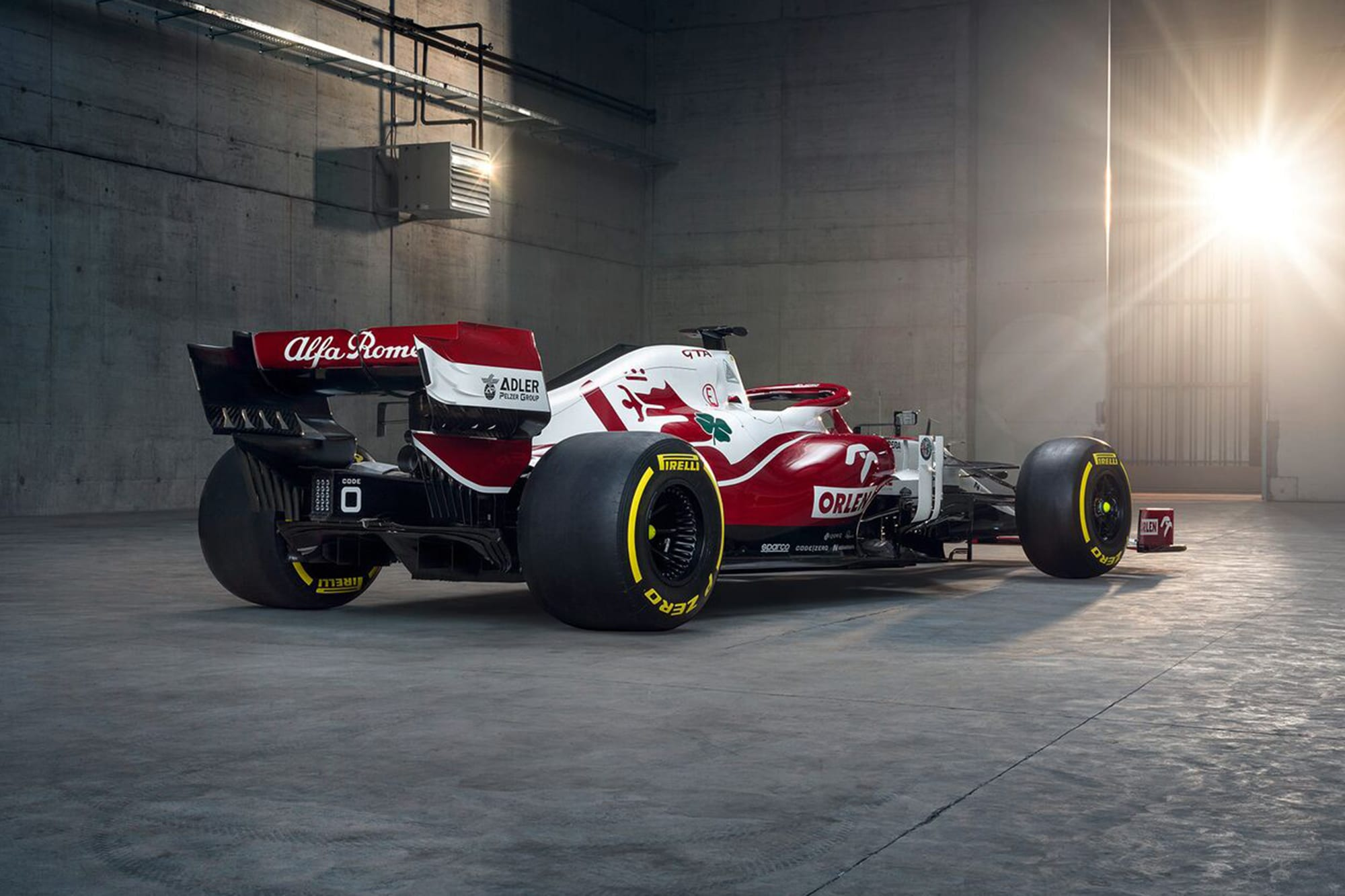 Alfa Romeo 2021 F1 launch C41