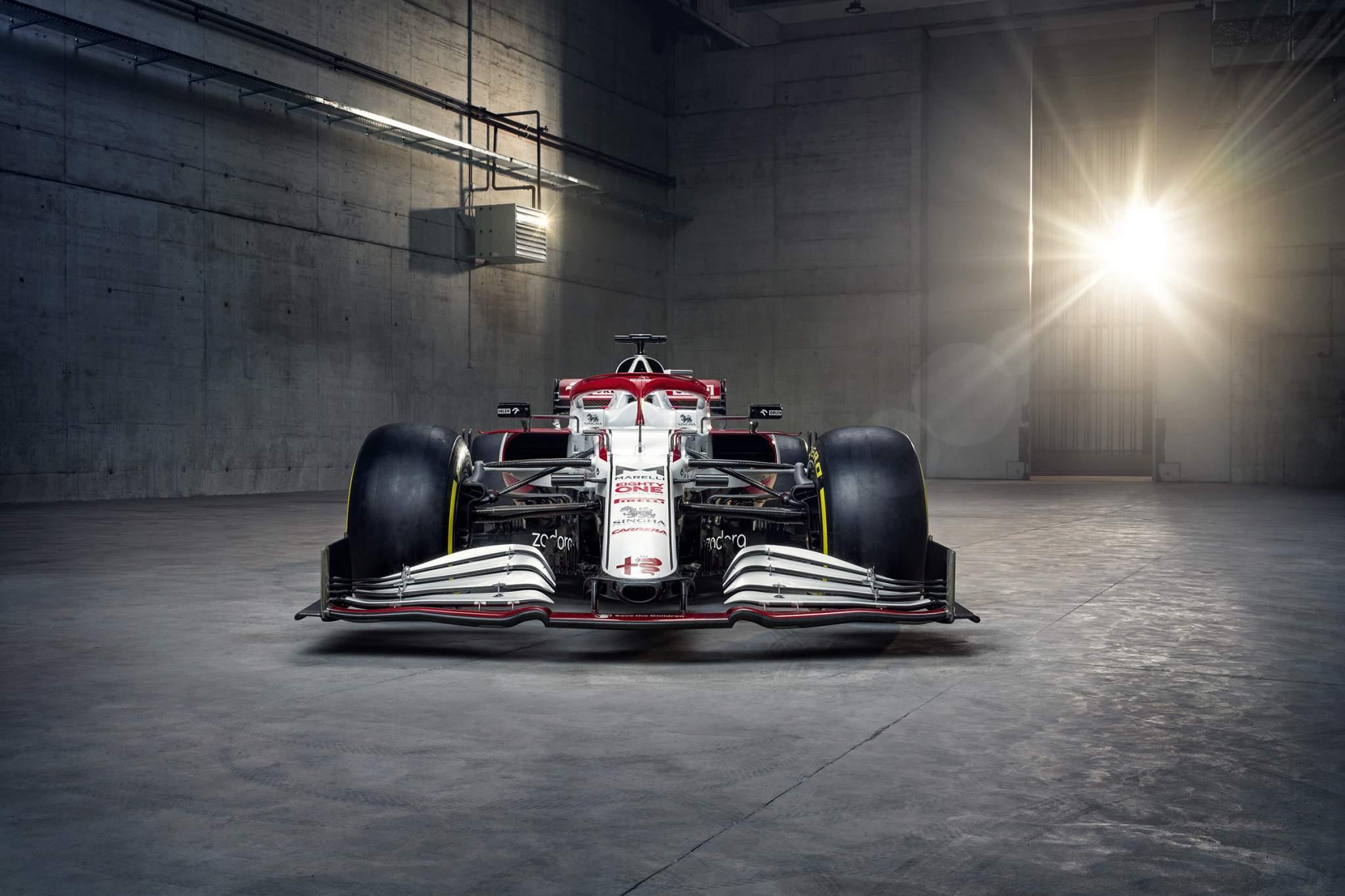 Alfa Romeo 2021 F1 car C41 launch
