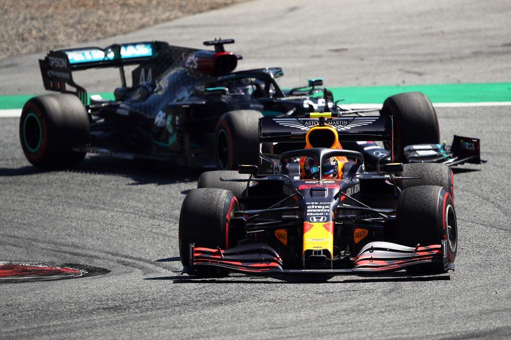 Red Bull Mercedes F1