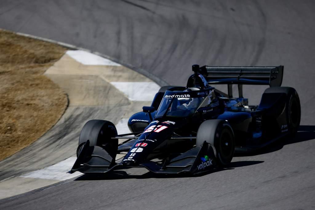 Romain Grosjean IndyCar test 2021