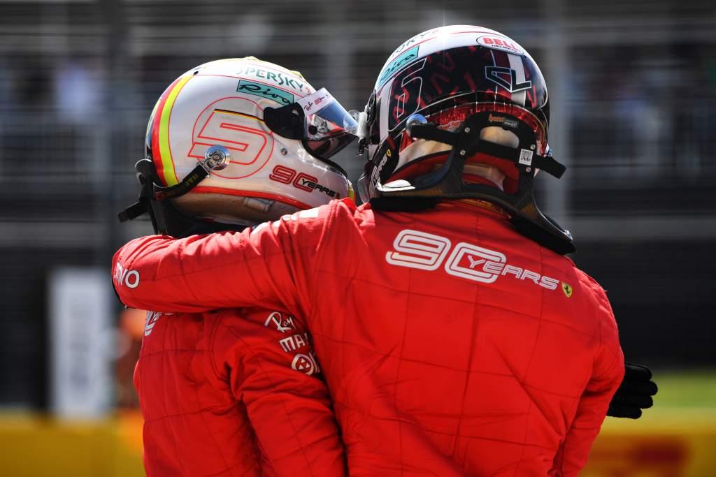 How Leclerc swung Ferrari away from Vettel - The Race