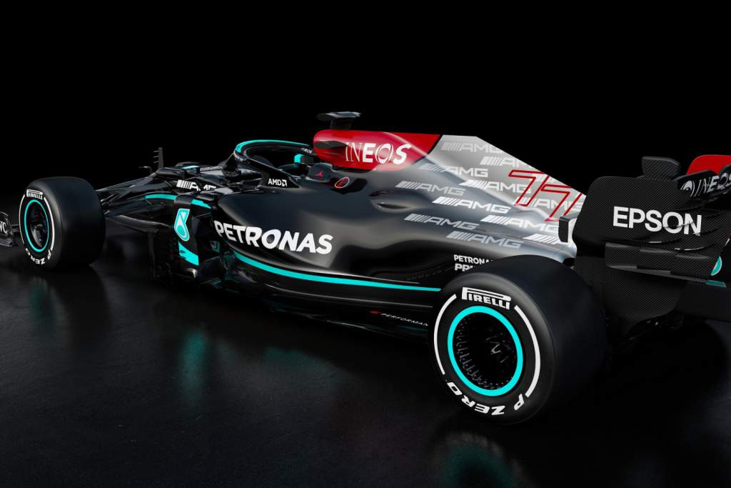 Mercedes reveals 2021 F1 car with updated anti-racism livery - The Race