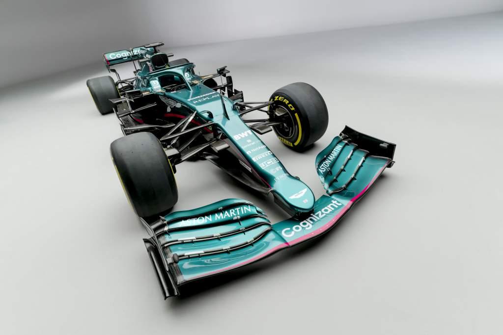 Aston Martin reveals green 2021 car for F1 return - The Race