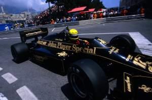 Ayrton Senna Lotus Monaco 1985