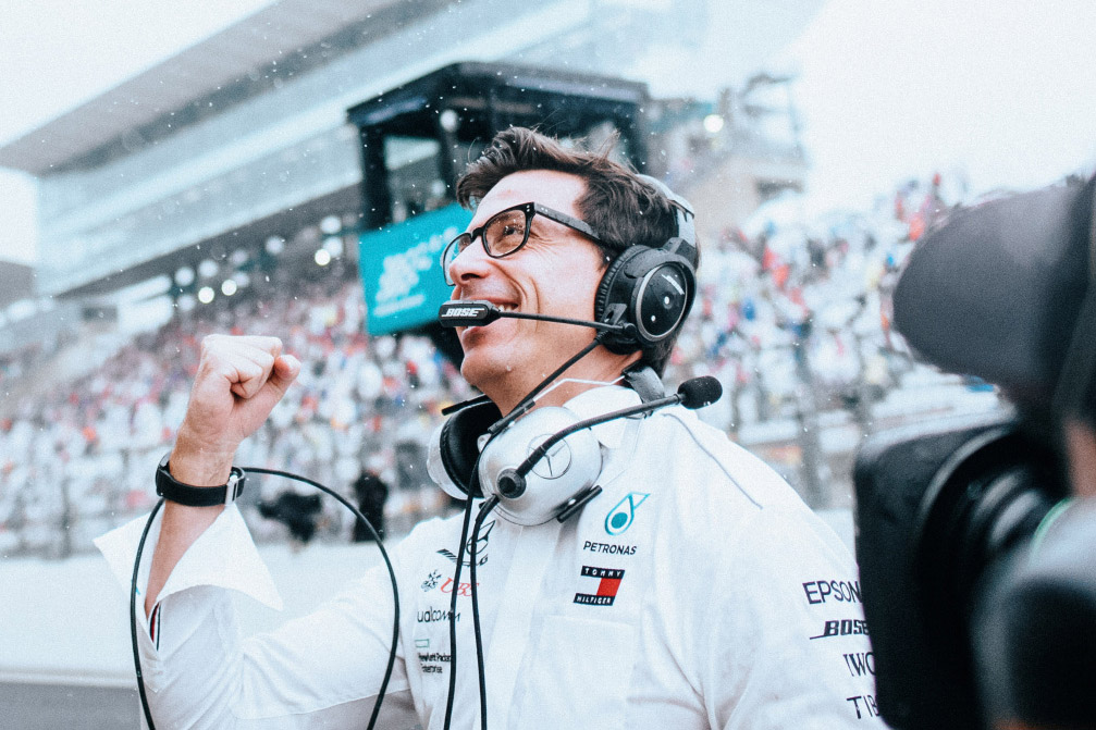 The making of F1's best team boss - Toto Wolff interview - The Race