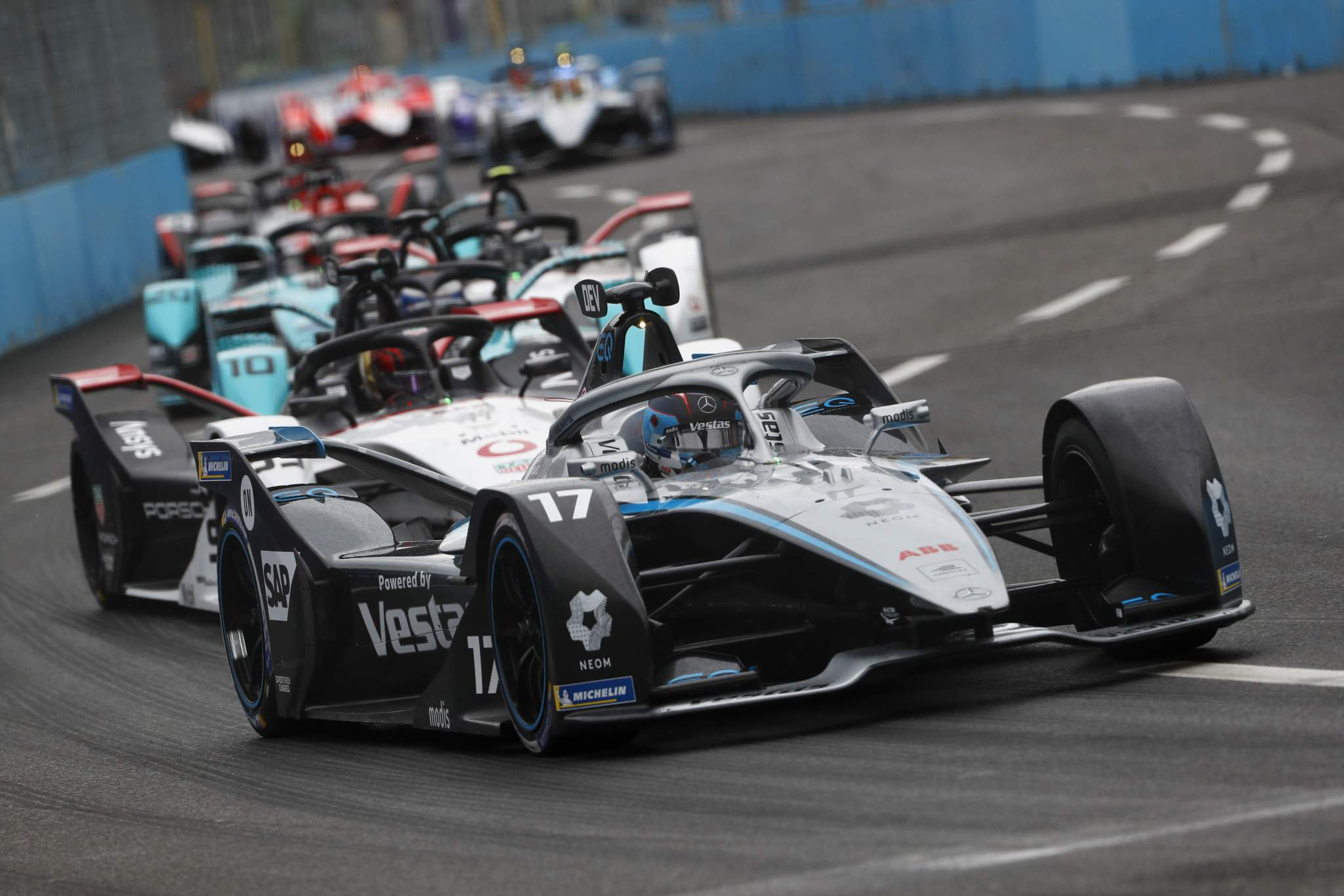 Motor racing-Mercedes to leave Formula E after 2022
