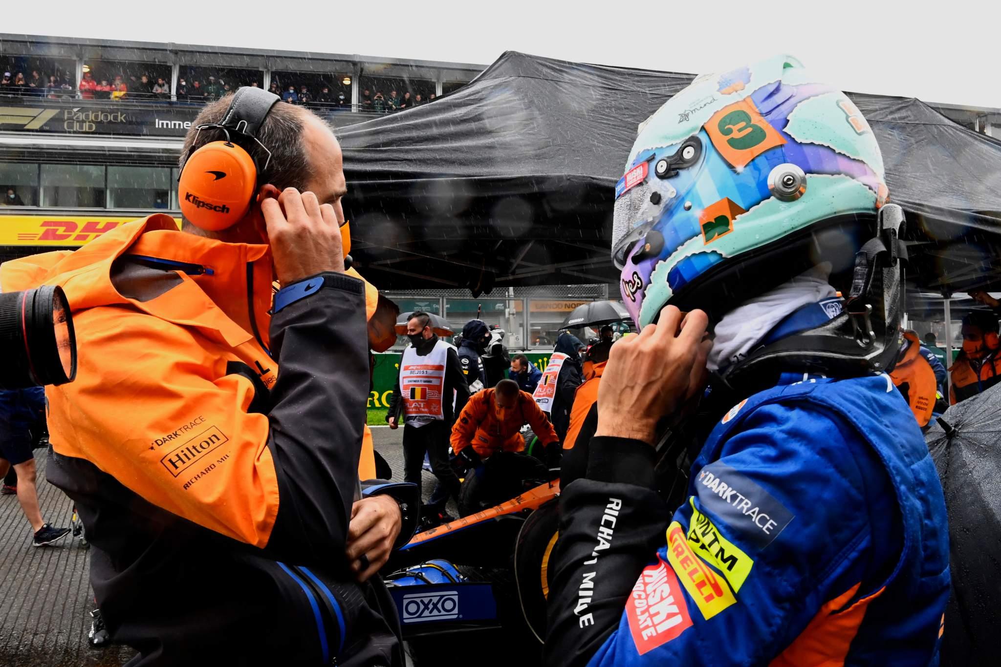 Motor Racing Formula One World Championship Grand Prix de Belgique Race Day Spa Francorchamps, Belgique